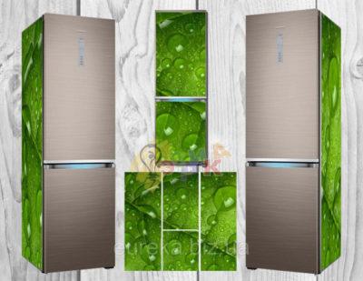 как обклеить холодильник самоклеющейся пленкой