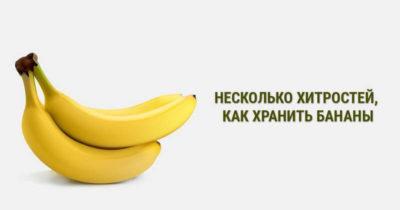 где хранить бананы в холодильнике или нет