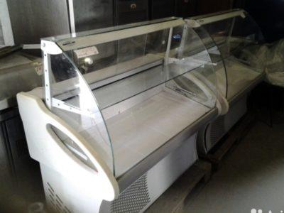 как разобрать холодильную витрину