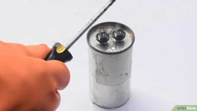 как проверить конденсатор на компрессоре