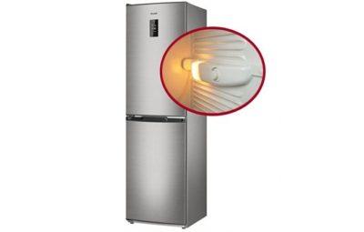 как поменять лампочку в холодильнике аристон хотпоинт