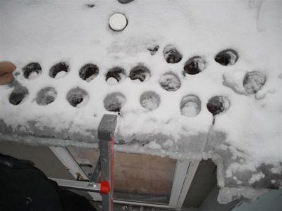 при какой температуре образуется лед