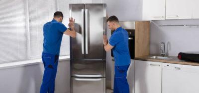 как перевезти холодильник лежа на боку