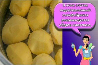 сколько хранится вареная картошка в холодильнике