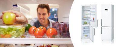 как выставить температуру в холодильнике бош