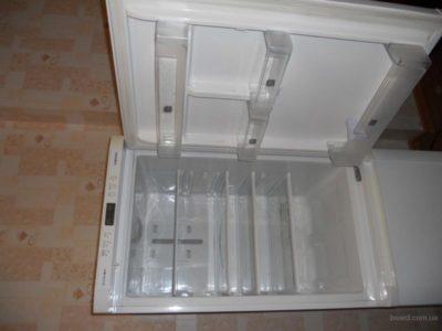 как разобрать морозильную камеру