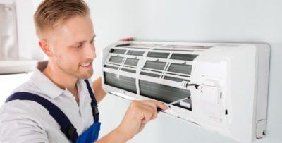 как почистить фильтр кондиционера