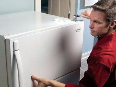 как разобрать ящик холодильника lg
